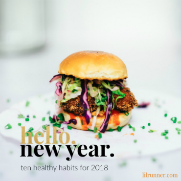Ten healthy habits for 2018