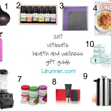 Gifts for health gurus