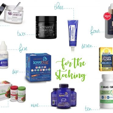 Health & Wellness stocking stuffers