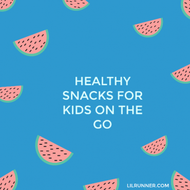 On the go healthy snacks for kids