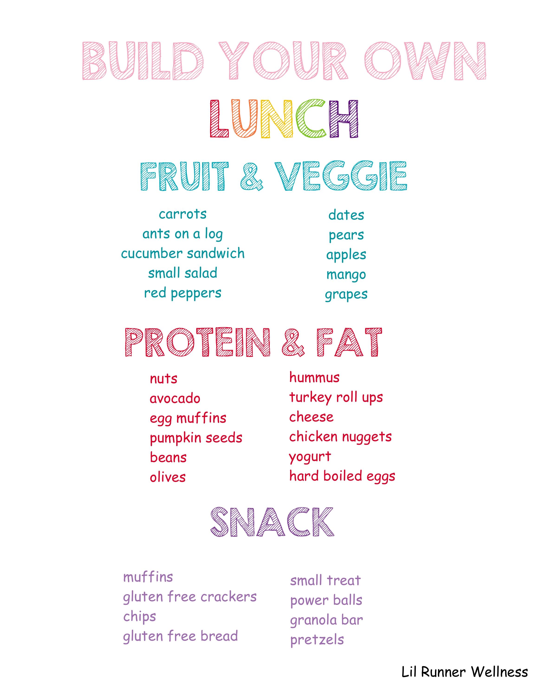 school lunch guide