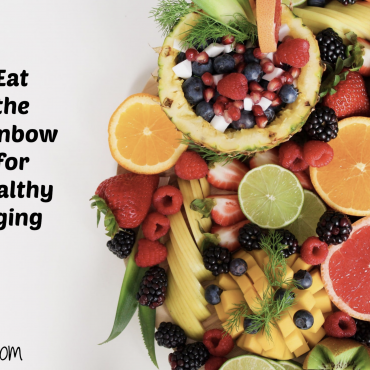 Eating the colors of the rainbow and their benefits
